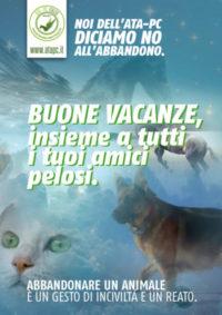 campagna anti abbandono 2019 ATA-PC Italia Odv