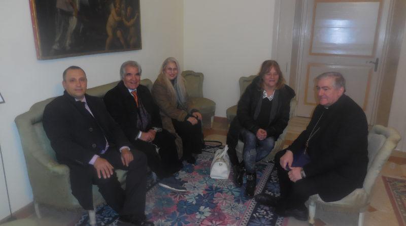 ATA-PC e ENDAS LECCE incontrano il Vescovo Michele Seccia